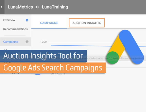 HOW DOES GOOGLE ADS AUCTION WORK TO SHOW GOOGLE ADS FOR YOUR SAFARI BUSINESS?